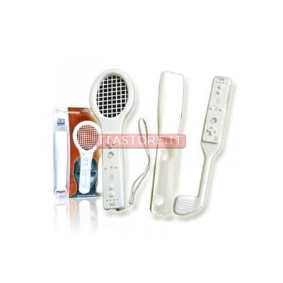 KIT NINTENDO WII SPORT 3 IN 1 TECHMADE