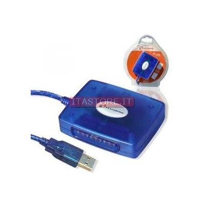 ADATTATORE JOYPAD DA PS2 A USB TECHMADE