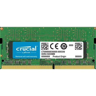 RAM SO-DIMM DDR4 8GB 2400 CL17 CRUCIAL CT8G4SFS824A