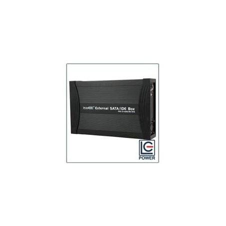 """Box Esterno 5,25"""" e 3,5"""" per Masterizzatori Lettori Hardisk HDD Bluray Ide o Sata USB Lc Power"""