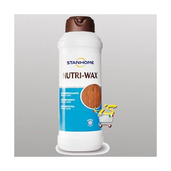 NUTRI WAX 1000 ml Cera nutriente per parquet cerati