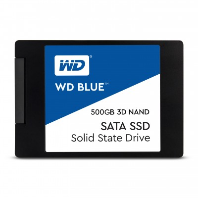 "SSD 2,5"" 500GB WESTERN DIGITAL BLUE 3D WDS500G2B0A"