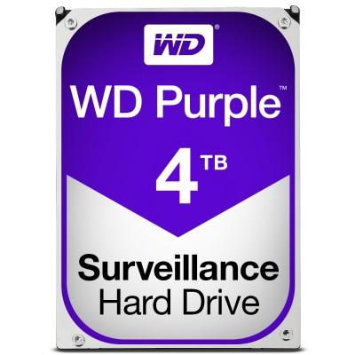 """HDD HARD DISK 3,5"""" 4TB 4000GB WESTERN DIGITAL PURPLE WD WD40PURZ"""
