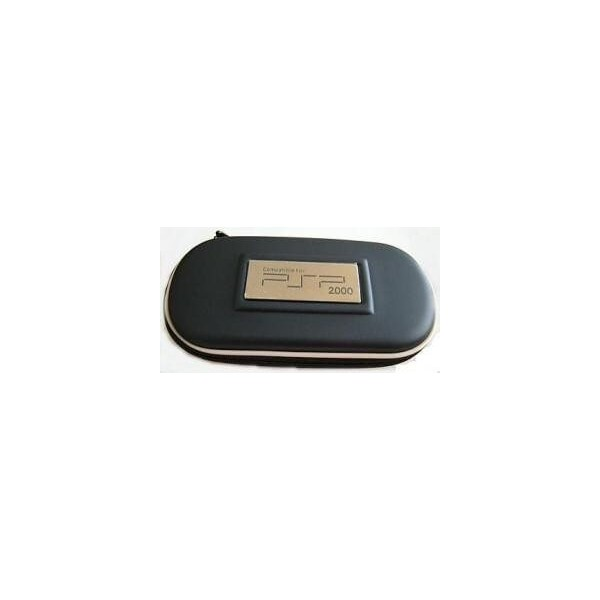 Borsello nero per console PSP custodia con cerniera per playstation PSP