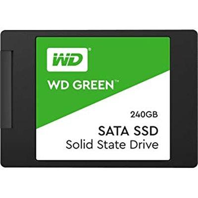 """SSD 2,5"""" 240GB WESTERN DIGITAL GREEN 3D WDS240G2G0A"""