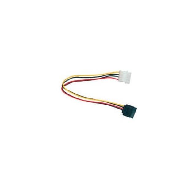 Cavo di alimentazione convertitore SATA da molex 4 poli a un connettore SATA 15 pin lungo 15 cm