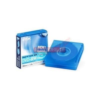 10 MINI DVD-RW TDK 2X 1,4GB 30MIN 8CM