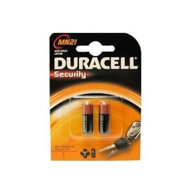 2 Batterie Pila Duracell MN21 12V MN 21 per telecomandi fotocamere sveglie dispositivi medici