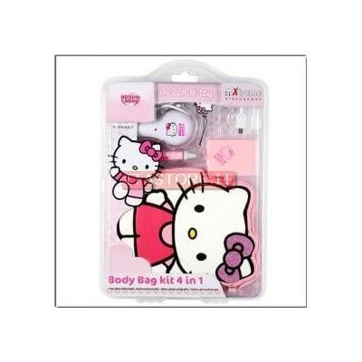 Hello Kitty Kit 4 in 1 per Nintendo DS LITE e DSI con caricatore da auto originale Sanrio