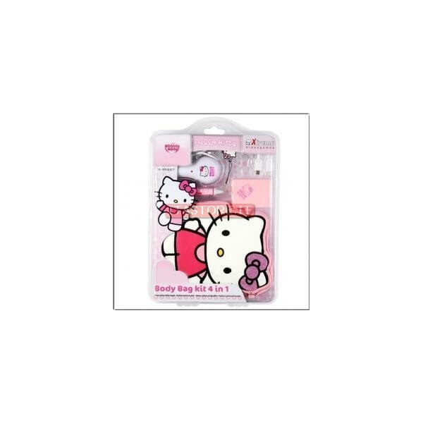 c0544ed0f3cc Hello Kitty Kit 4 in 1 per Nintendo DS LITE e DSI con caricatore da auto