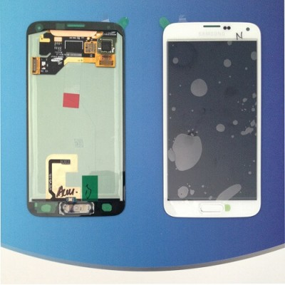 DISPLAY SAMSUNG S5 G900F LCD ASSEMBLY WHITE GH97-15734A GH97-15959A