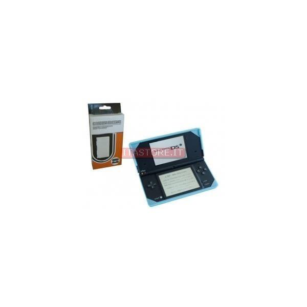 Custodia protettiva gomma silicon case bianca per Nintendo DSI XL