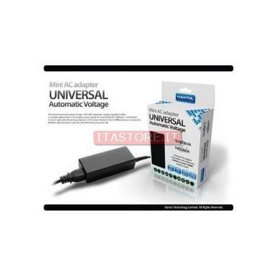 Alimentatore universale notebook portatili 70W da casa rete elettrica Hantol 10 connettori