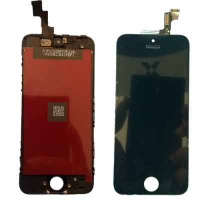 i5SB Kit  Display Apple iphone 5s black completo di touch screen e frame assemblato