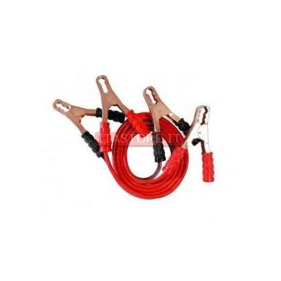Cavi batteria auto camper moto 2 pezzi nero rosso 2,5 metri