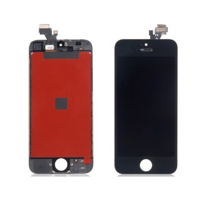i5B Kit Display Apple iphone 5 black completo di touch screen e frame assemblato