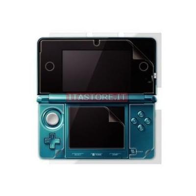 3DS 2 Pellicole protettive antigraffio per schermo display Nintendo 3DS