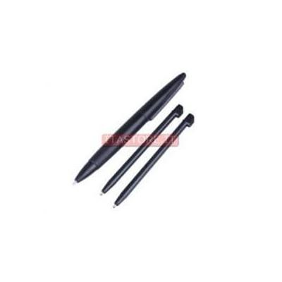 Kit confezione 3 pennini grande e normale touch screen per Nintendo Dsi XL DSiXL colore nero
