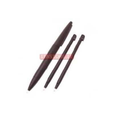 Kit confezione 3 pennini grande e normale touch screen per Nintendo Dsi XL DSiXL colore marrone