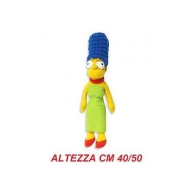 Peluche stoffa grande The Simpsons 40-50 cm - Marge Simpson morbido originale