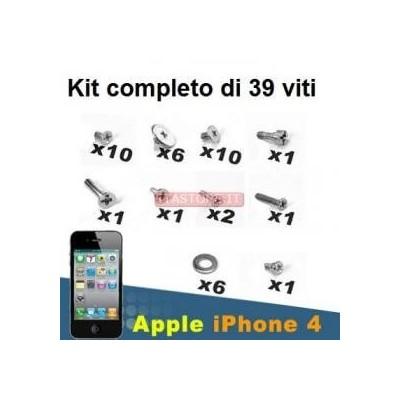 Set di 39 viti di ricambio kit completo per cellulari iPhone 4 4S