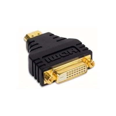 Adattatore convertitore da DVI Dvi-I 24+5 pin femmina a HDMI 19 pin maschio con connettori oro