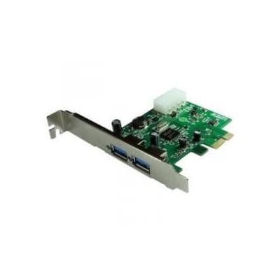 Scheda aggiuntiva slot Pci express pci-e  x1 per 2 porte USB 3.0 adattatore Technaxx 302P