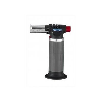 Cannello mini bruciatore torcia saldatore a gas con fiamma ossidrica e accessione elettronica
