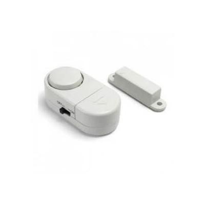 Allarme acustico senza fili wireless da 90 dB per porte e finestre adesivo con batterie