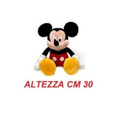 Peluche Topolino Walt Disney cm 30 - Mickey Mouse morbido originale ufficiale Disney