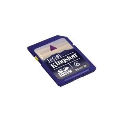 Scheda Di Memoria Secure Digital SD HC 16 Gb Kingston flash card 16GB