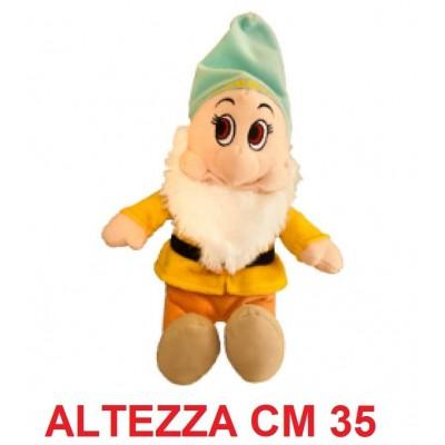 Peluche 7 nani 35 cm - Mammolo morbido originale ufficiale Disney - Taglia 3