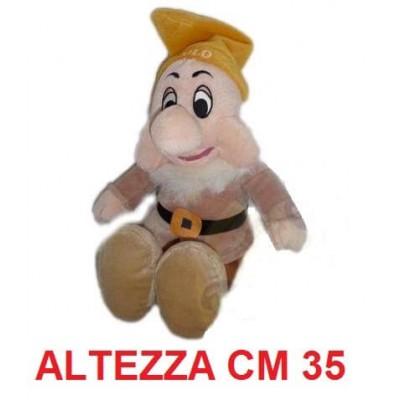 Peluche 7 nani 35 cm - Eolo morbido originale ufficiale Disney - Taglia 3