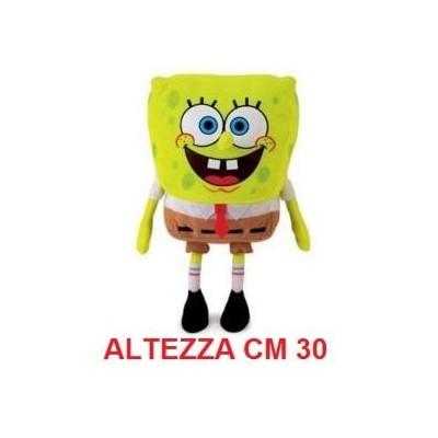 Peluche Spongebob SquarePants 30 cm - morbido originale con cartellino
