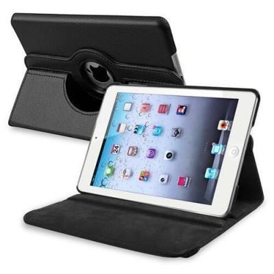 Smart Cover custodia ruotante 360 in ecopella nera per iPad 2 3 4