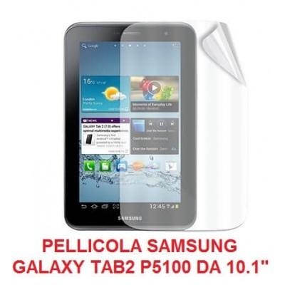 Pellicola trasparente Samsung Galaxy Tab 2 da 10.1 pollici P5100 P5110