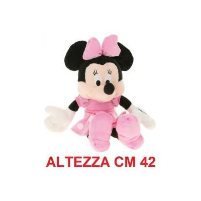 Peluche Topolina Walt Disney cm 42 - Minnie morbido originale ufficiale Disney