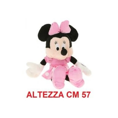 Peluche Topolina Walt Disney cm 57 - Minnie morbido originale ufficiale Disney