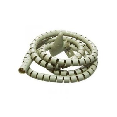 Avvolgi copri cavi a spirale mangia cavi colore beige lungo 2 metri