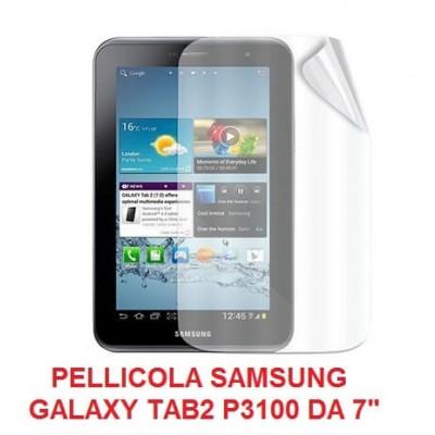 Pellicola trasparente Samsung Galaxy Tab 2 da 7 pollici P3100 P3110