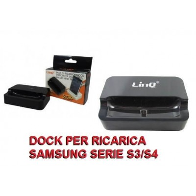 Dock basetta ricarica e traferimento dati per Samsung serie S3 e S4