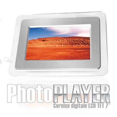 PHOTOPLAYER CORNICE DIGITALE 7 TECHMADE