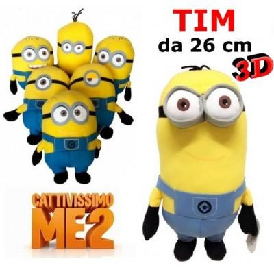 Peluche da 26 cm Minions - TIM della serie Cattivissimo Me 2 originale con cartellino
