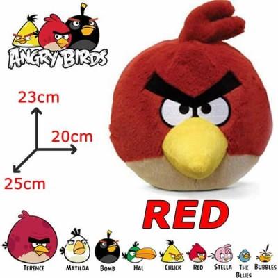 Peluche Angry Birds RED uccello rosso - giocattolo Originale con cartellino