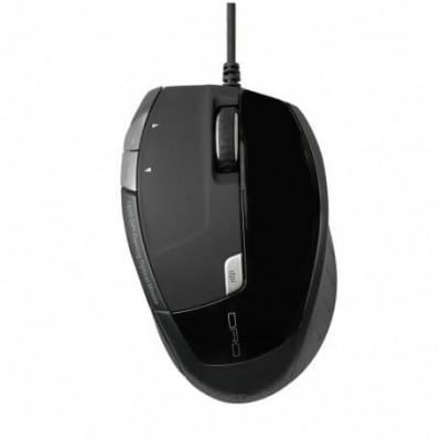 Mouse USB ottico Vultech MOU-4082 5 tasti ergonomico con sensore 1600 DPI
