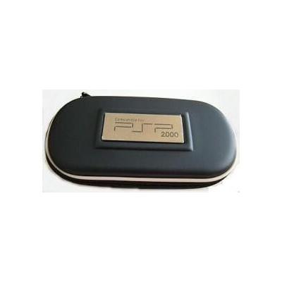 Borsello blu scuro per console PSP custodia con cerniera per playstation PSP
