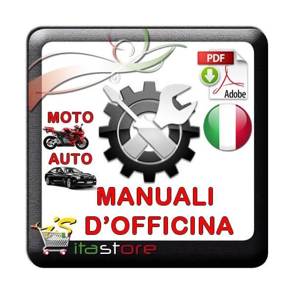 E1813 Manuale officina per Moto Triumph Tiger 1050 ABS dal 2006 in italiano PDF