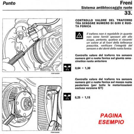 E1780 Manuale d'officina Fiat Multipla Bipower 1.6 16V dal 1998 PDF Italiano