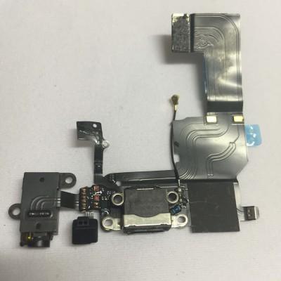 FLAT CONNETTORE DI RICARICA + MICROFONO PER IPHONE 5C IP5C-101