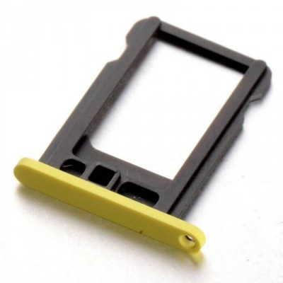 PORTA SIM CARD PER IPHONE 5C YELLOW IP5C-116